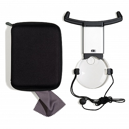 """Round-the-Neck"" Magnifier 2.5x / 5x"
