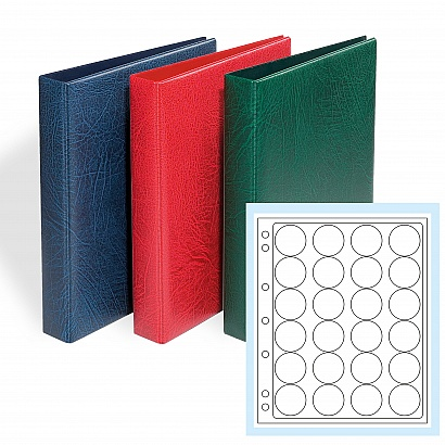 GRANDE F 3-RING BINDER WITH 6 PAGES ENCAP 36/37