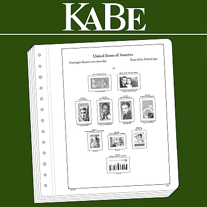 KABE OF Illustrated album pages USA