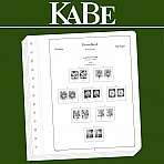 KABE OF Supplement Federal Republic of Germany horizontal pairs (definitve stamps) 2018
