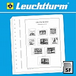 LIGHTHOUSE SF Illustrated album pages German Reich Saar 1920-1935